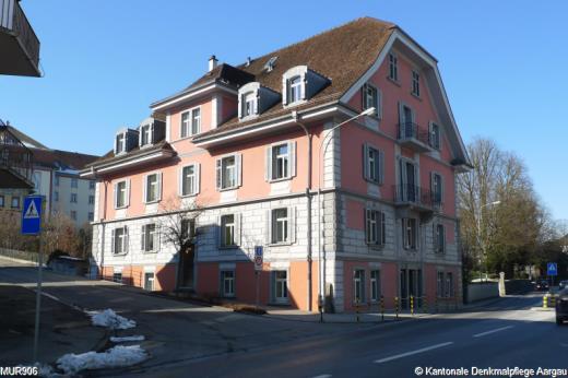 Inv Mur906 Wohnheim Rothaus 1698 Dossier Bauinventar