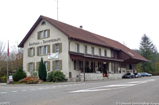 Gaststätte Tannenbaum.Inv Vor903 Gasthaus Zum Tannenbaum 1845 Dossier Bauinventar