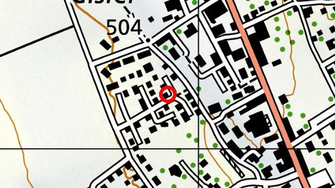 Standort auf Strassenkarte